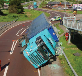 Commercial Truck Crash